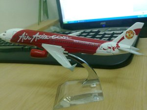 Air Asia Manchester United Edition