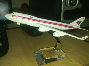Thai Airways Pink Livery